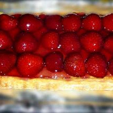 Frangipane Tart With Strawberries and Raspberries