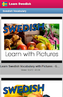Screenshot of Learn Swedish Free