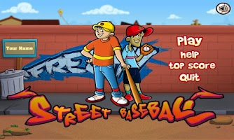 Screenshot of Street Baseball Free
