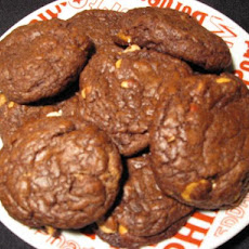 Austin's Peanut Butter Butterscotch Chip Brownie Cookies