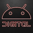 Digital Red GO Launcher Theme icon