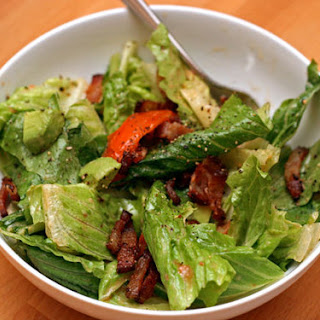 Bacon, Lettuce, and Tomato Salad with Aioli Dressing