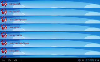 Screenshot of Cep Radyo