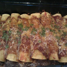 Jacki's Black Bean Enchiladas
