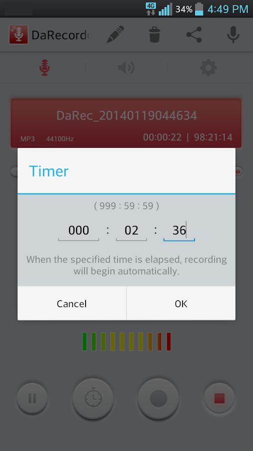 High Quality Voice Recorder Screenshot 6
