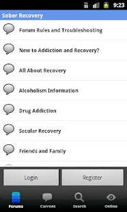 Sober Recovery - screenshot