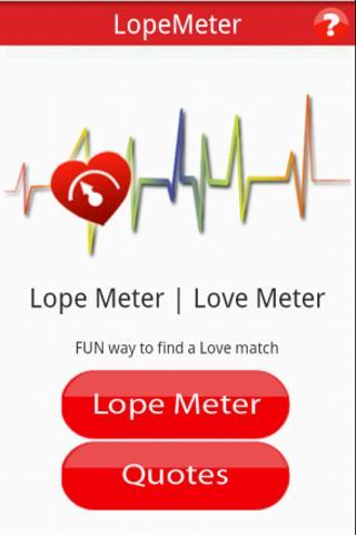 LopeMeter LoveMeter v.2