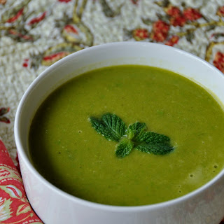 Pea Leek And Mint Soup Recipes