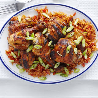 Piri-piri Chicken With Spicy Rice