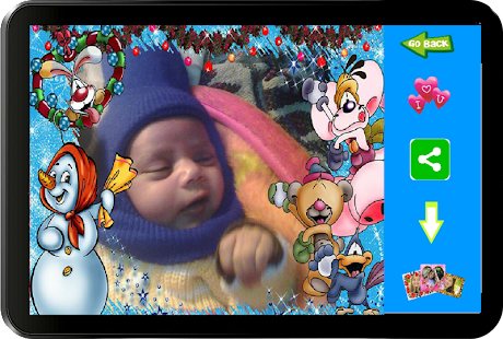 Christmas Baby Photo Frames- screenshot thumbnail