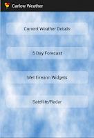 Screenshot of Carlow Weather