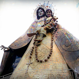 divine lady by Philip Beltran II - Buildings & Architecture Statues & Monuments ( our lady, catholic, divine, statue, mary,  )
