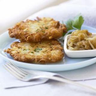 Potato Latkes With Chives Recipes