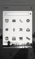 Screenshot of Following dodol launcher theme