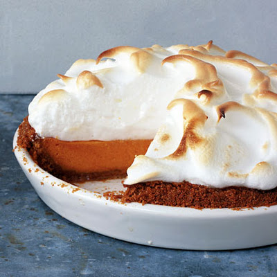 Sweet Potato Pie with Marshmallow Meringue