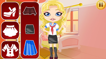 Screenshot of School Dress Up