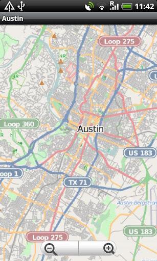 Austin Street Map
