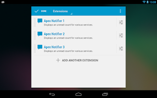 Screenshot of Apex Notifier