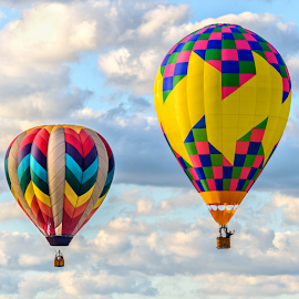 Up, up & away by Giancarlo Bisone - Transportation Other ( hot air, colors, balloon, new jersey )