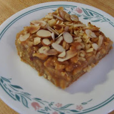 Southern Caramel Apple Bars