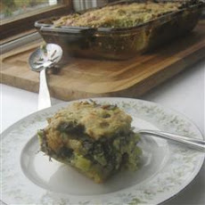 A Lot More Than Plain Spinach Pie (Greek Batsaria)