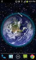 Screenshot of 3D Moving Earth Live Wallpaper