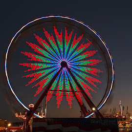 Color Burst by Ajit Pillai - City,  Street & Park  Amusement Parks ( low contrast, high quality, in focus,  )