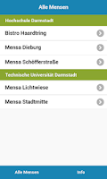 Screenshot of Mensa Darmstadt