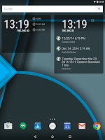 Screenshot of TimeZone for DashClock