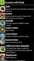 Screenshot of Cyprus Cuisine
