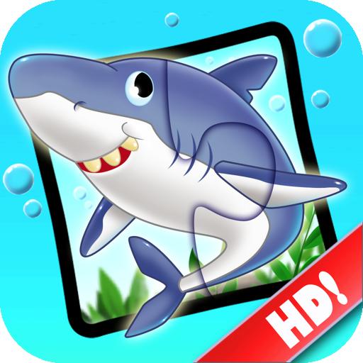儿童拼图123 - 海洋世界篇 教育 App LOGO-硬是要APP