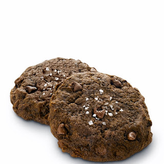 Dark Chocolate Sea Salt Cookies with Truvía® Baking Blend