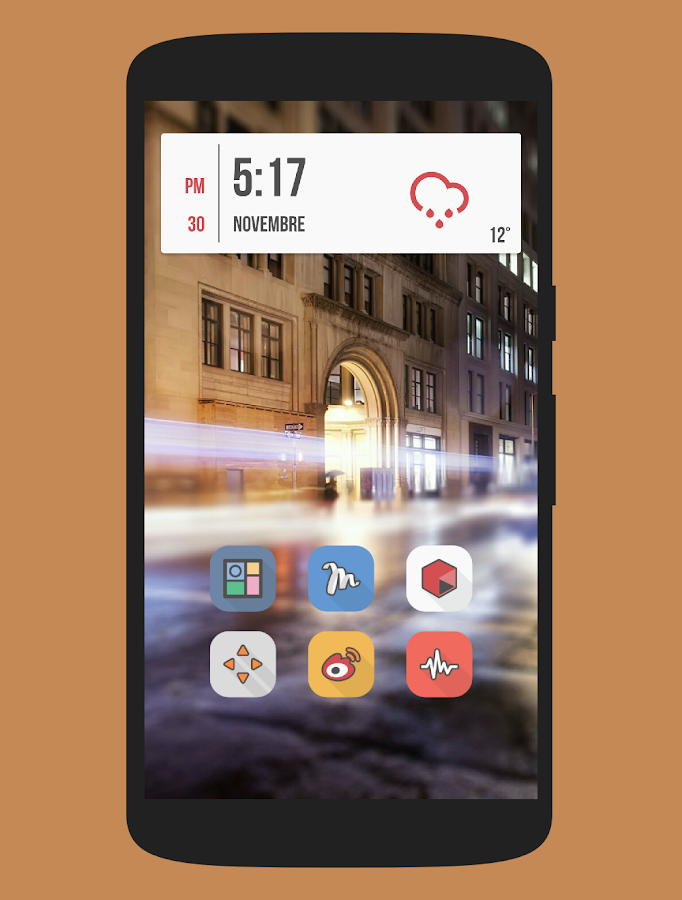 Parallax - Icon Pack Screenshot 4