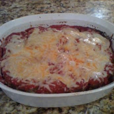Cheesy Layered Meatloaf