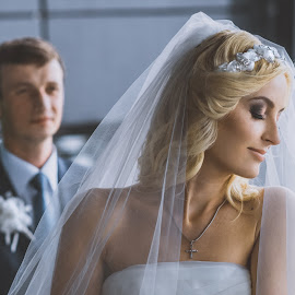 On the side by Vitaly Petrishin - Wedding Other ( sony, ivano-frankivsk, woman, wedding, bride, a57, groom )