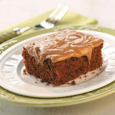 Double Chocolate Sheet Cake