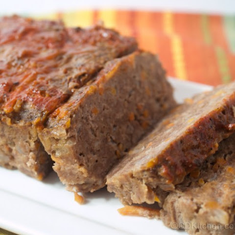 Healthy, Hearty Meat Loaf