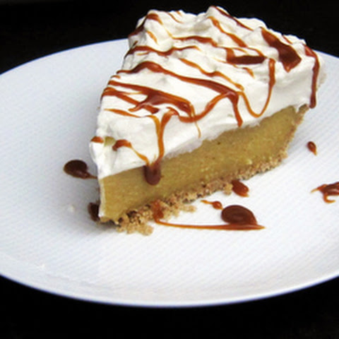 Butterscotch Pie With Whipped Cream Topping