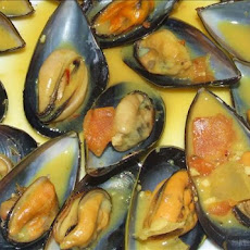 Curry-Coconut Mussels