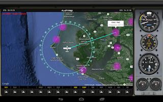 Screenshot of FlightMap