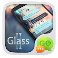 GO SMS PRO GLASS II THEME APK for Bluestacks
