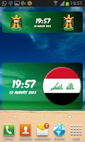 Screenshot of Iraq Digital Clock