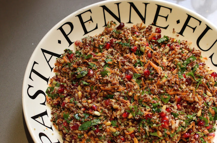 Ballymaloe's Red quinoa tabbouleh with toasted pine nuts and ...