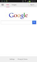 Screenshot of Google All In One