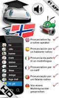 Screenshot of FREE Norwegian Verbs LearnBots