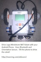 Screenshot of SenseBot  Lego Mindstorm NXT