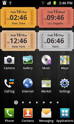 Awesome Clock Widget Lite
