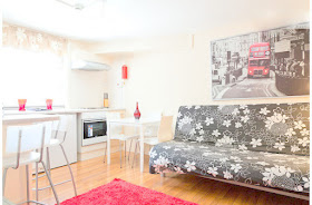 Lively one bedroom Soho apartment