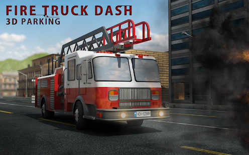 Fire Truck Dash 3D Parking - screenshot