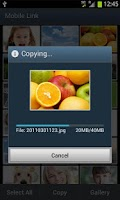 Screenshot of Samsung SMART CAMERA App